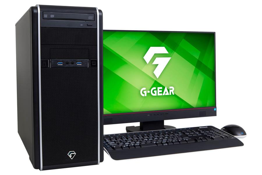 G-GEAR ゲーミングパソコン 第3世代AMD Ryzenプロセッサ・X570チップセット搭載モデル